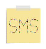 Post sms Stock Photography