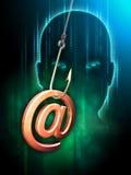 Post som phishing Royaltyfri Bild