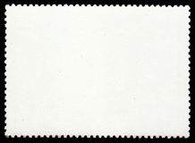 Post stamp. Photo of a blank post stamp. Use it as a background stock photo