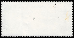 Post stamp. Photo of a blank post stamp. Use it as a background Royalty Free Stock Photos