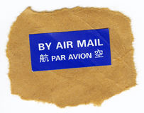 Post stamp set Royalty Free Stock Photos