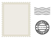 Post stamp. Web design element Royalty Free Stock Images