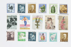 Post stamps Royalty Free Stock Image