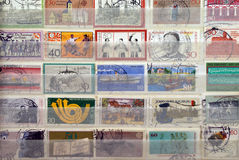 Post Stamps Royalty Free Stock Photos