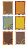 Post Stamps stock images