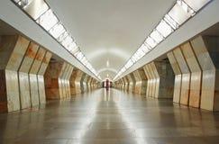 Post Sukharevskaya in metro van Moskou Royalty-vrije Stock Foto