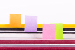 Post It Tags Royalty Free Stock Image