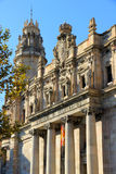 Post and telegraph offices in Barcalona Royalty Free Stock Photography