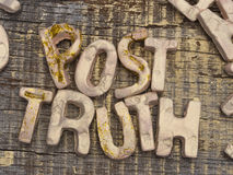 Post Truth concept Royalty Free Stock Photo