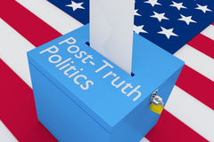 Post-Truth Politics concept Stock Photography