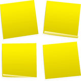 Post it variation Stock Images