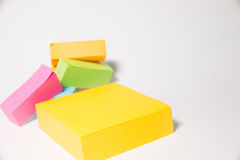 Post-it. Is a very useful stationery Royalty Free Stock Photography