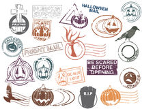 Post vóór Halloween Stock Afbeelding