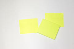Post-it. With white background Stock Image