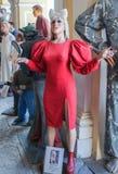 Postać Gaga dama zdjęcia stock