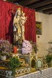 Postać Jezus w kościół Zdjęcie Stock