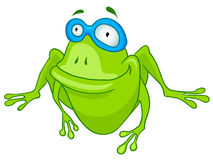 postać z kreskówki żaba Obraz Stock