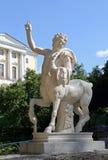 Postać centaur na piedestale Obrazy Stock