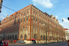 Posta centrale, Zagabria Immagine Stock