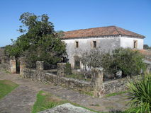 Posta del Chuy in Cerro Largo, Uruguay. Old historic inn situated in Cerro Largo, Uruguay, built in stone in 1855 by two basque men. It was a stopping point for Royalty Free Stock Images