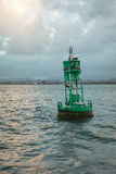 Posta del mare a San Juan Fotografia Stock