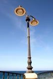Posta della lampada Immagini Stock