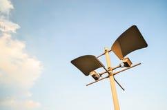 Posta della lampada Fotografia Stock