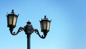 Posta della lampada con lo spazio della copia Fotografia Stock Libera da Diritti