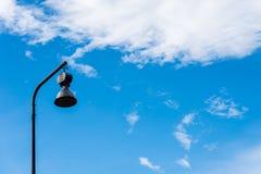 Posta della lampada di via Fotografia Stock Libera da Diritti
