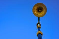 Posta della lampada di via, palo leggero Fotografie Stock Libere da Diritti