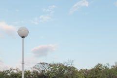 Posta della lampada elettrica della sfera Immagine Stock Libera da Diritti