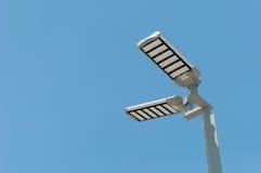 Posta delle lampade di via del LED Fotografia Stock Libera da Diritti