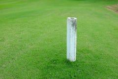 Posta di distanza nel campo da golf Fotografia Stock