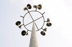Posta di elettricità Fotografia Stock