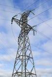 Posta di elettricità Immagini Stock Libere da Diritti
