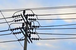 Posta di elettricità Fotografia Stock Libera da Diritti