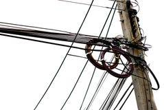 Posta elettrica dell'isolato Fotografie Stock Libere da Diritti