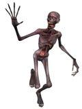postać Halloween żywy trup Fotografia Royalty Free