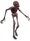 postać Halloween żywy trup Obraz Royalty Free