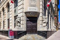 Posta - kontoret i Ottawa Royaltyfri Fotografi