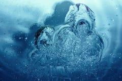 Postać mistyczne istoty woda Zdjęcie Royalty Free