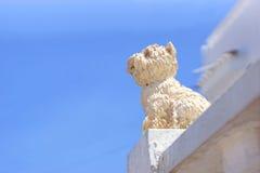 Postać pies na ogrodzeniu Zdjęcie Royalty Free