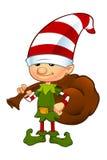 postać z kreskówki śliczna elfa ilustracja Fotografia Stock
