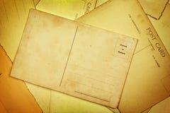Postacards viejo Foto de archivo libre de regalías