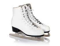 Postaci łyżwy odizolowywać na bielu Zdjęcie Stock