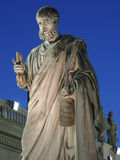 Postaci St Peter w Watykan Fotografia Royalty Free
