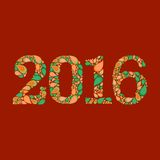 Postacie 2016 Fotografia Stock