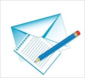 Postage accessories Royalty Free Stock Photo