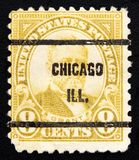 Postage circa of 1930. USA Royalty Free Stock Photos