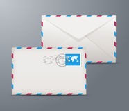 Postage envelopes Stock Photography